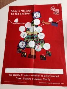 Coram Fields Christmas Fair promoting Kallikids