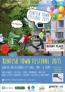 Kentish Town festival on Saturday come and have some fun we will have a Kallikids stall here