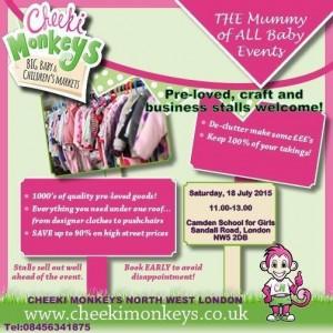 Cheeki Monkeys Sale 18th July 2015