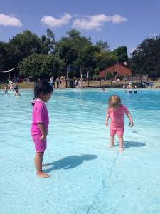 Summer Holidays day on Hampstead Heath