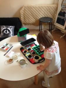 Camden childminders teaching them to grow