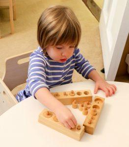 Montessori play